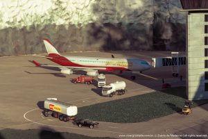 Avião no Aeroporto Internacional Bariloche - Mini Mundo Gramado