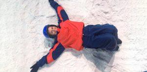 Susane Santana na Snowland em Gramado