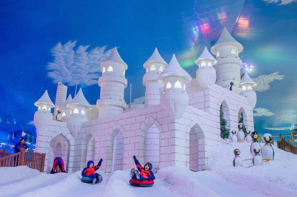 Paque de neve Snowland - Gramado-RS